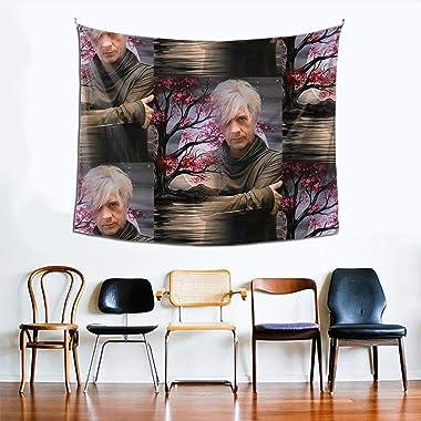 Hdadwy Nicolas Sirkis Indochine (1) Tapisserie Murale décorative Chambre Salon dortoir décor de fête 60x51 po