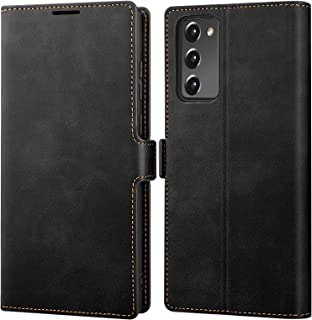 Galaxy S20 FE Case Wallet Leather Flip Cases with Kickstand Card Holder Slots Shockproof Protection Magnetic Protective Co...