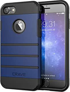 Crave iPhone 8 Case, iPhone 7 Case, Strong Guard Heavy-Duty Protection Case for Apple iPhone 8/7 (4.7 Inch) - Navy