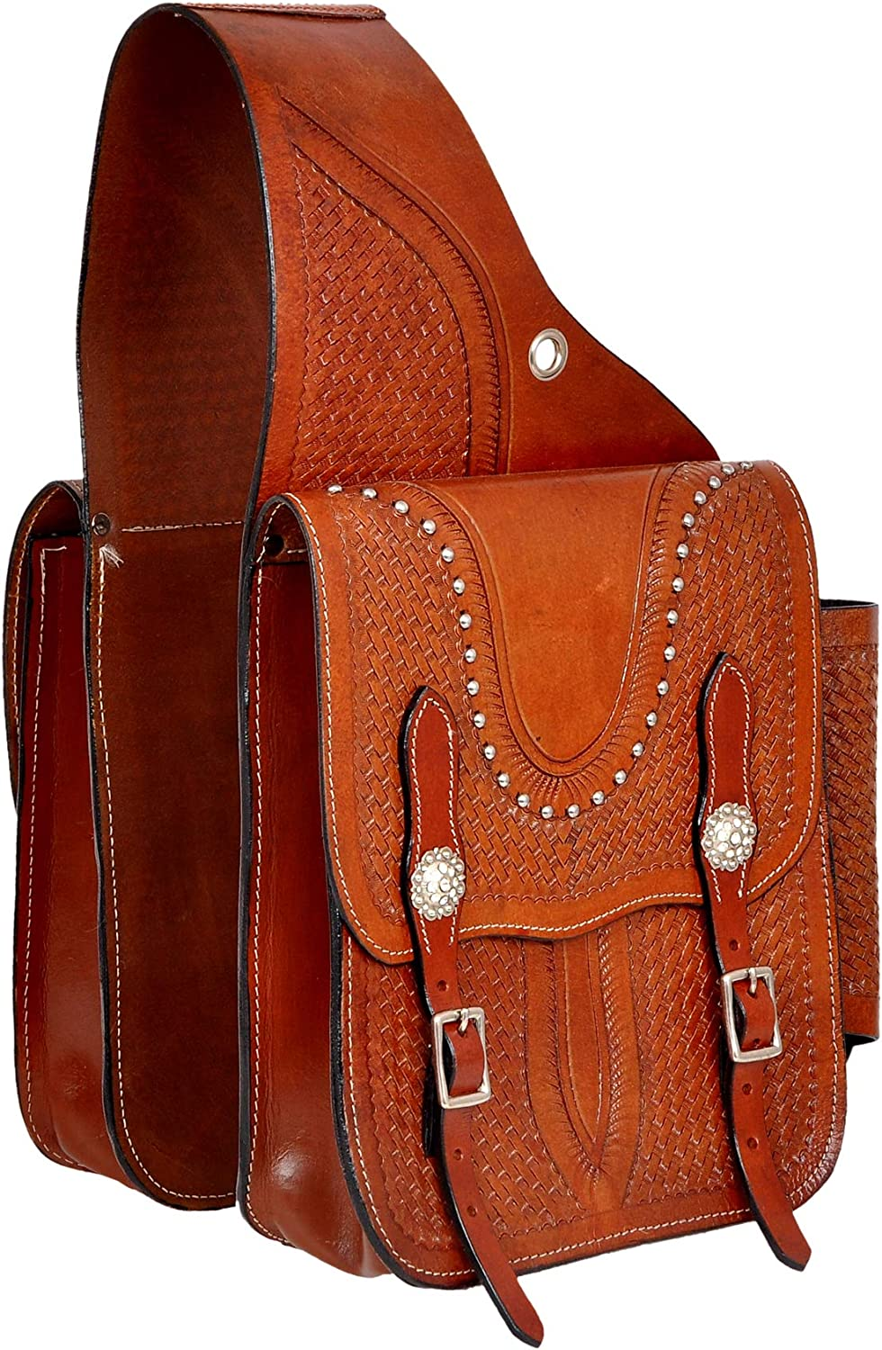 HORSE SADDLERY IMPEX Genuine Cow Free Shipping Hide Trail Western Leather Popular standard Too