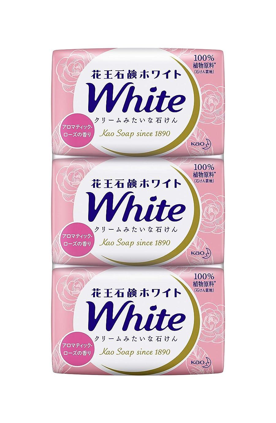 チップしなやかきちんとした花王ホワイト アロマティックローズの香り レギュラーサイズ3コ
