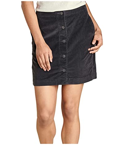 Toad&Co Cruiser Cord Skirt (Soot) Women