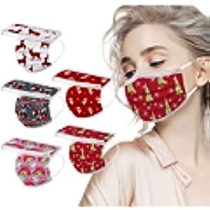 大人向けクリスマス柄のマスクやフェイスシールド・ガード・カバーが欲しい!コロナ対策も楽しみたい♡