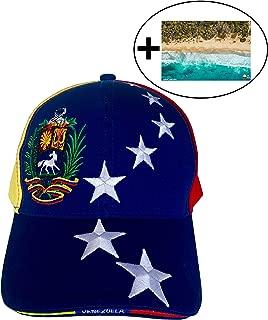 Original Venezuela hat l Gorra de Venezuela l Opposition Venezuela Cap l Venezuelan hat (7 Estrellas y Caballo viendo a la IZQUIERDA ;) + foto de Venezuela …