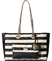 Luv Betsey - Noel PVC Top Zip East/West Tote