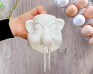Egg Separator Mug - Slime - Eggyman Egg White Yolk Filter Separator - Funny Mugs - Kitchen Gadgets - Funny Kitchen - Gag Gifts - Gifts for mom