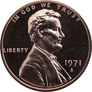 1971 S Lincoln Memorial Penny Cent Gem Proof US Mint