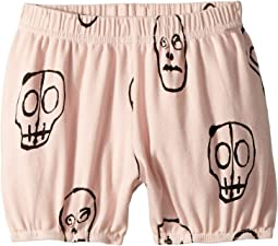 Nununu - Skull Mask Yoga Shorts (Infant/Toddler/Little Kids)