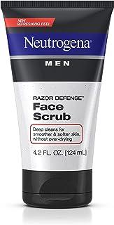 Neutrogena Men Razor Defense Face Scrub, 4.2 Ounce