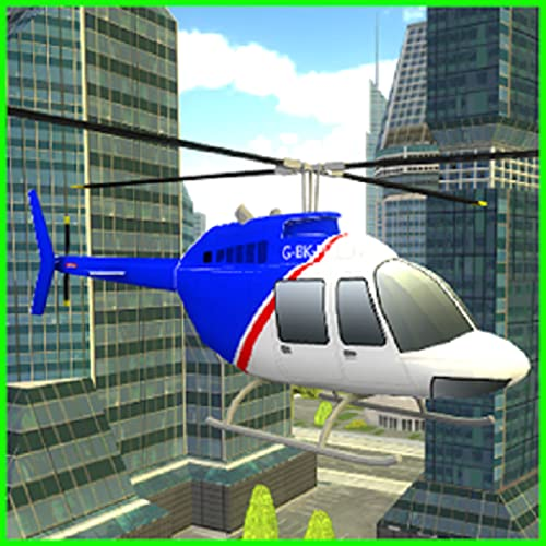 City Helicopter Simulator Game