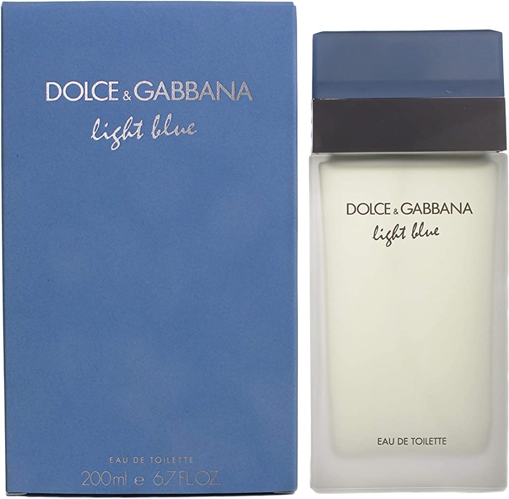 Dolce & gabbana  light blue eau de toilette donna spray 200ml 175-20240