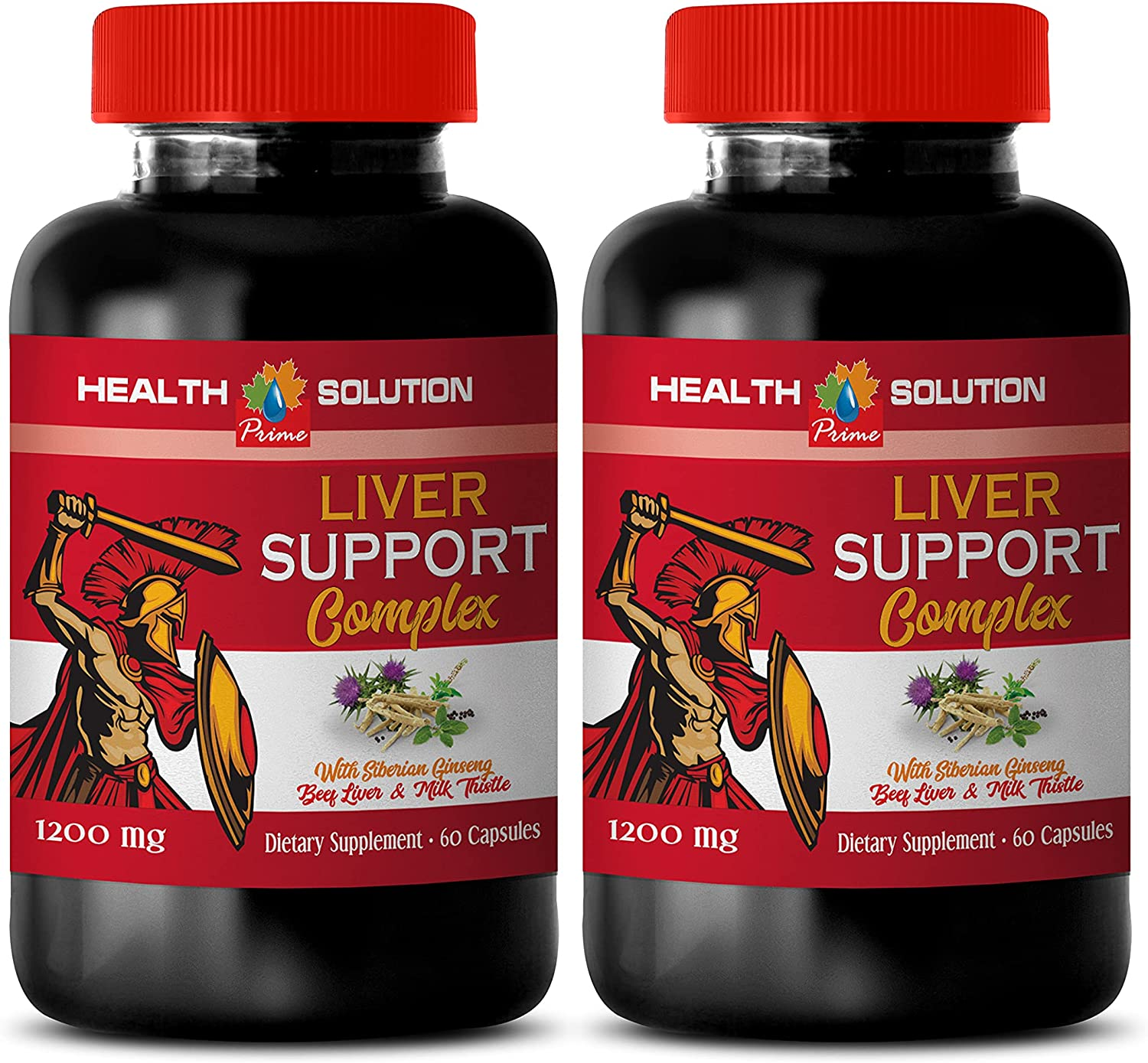 Liver Support trend rank Supplement - Large discharge sale 1200 Complex MG Dieta