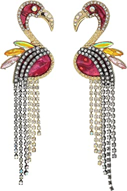 Lost Flamingo Statement Earrings
