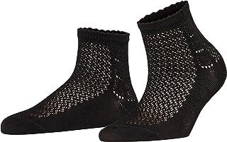 FALKE Damen Socken Basketwork - 80% Baumwolle, 1 Paar, Versch. Farben, Größe 35-42 - Modischer Kurzstrumpf mit hoher Farbbrillanz, offene und sommerliche Strickstruktur