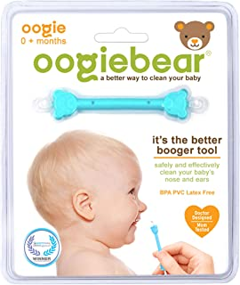 oogiebear – The Safe Baby Nasal Booger and Ear Cleaner; Baby Shower and Registry..
