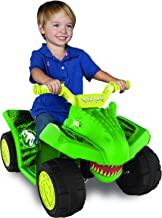 Safe to Ride,Cute and Fun 6v Jurassic World Quad with Contoured Comfort Seat and an Easy Push Button Accelerator, for Any Dinosaur Fan Between 18-36 Mos of Age,Green