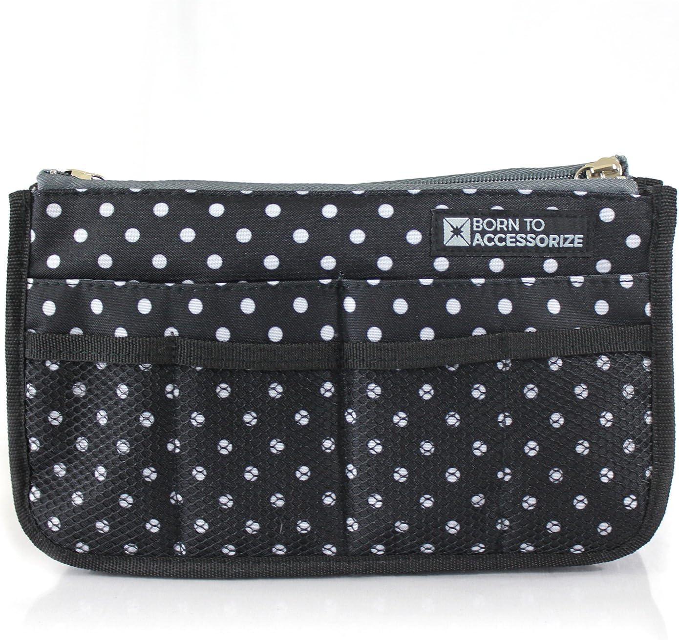 Handbag Purse Organizer half in Over item handling Premium Sturdy - Polyester Bag Insert