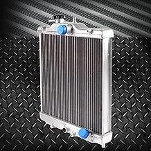 3 Row 52mm Aluminum Cooling Radiator Cap Racing radiator Top Leak For Honda Civic 92-00 EK EG D15 D16 In/Out 28mm 1993 1994 1995 1996 1997 1998 1999