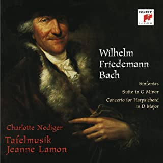 Wilhelm Friedemann Bach: Sinfonias & Suite in G Minor & Concerto for Harpsichord in D Major