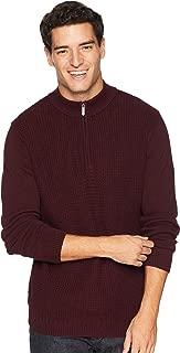 Ben Sherman Mens 1/4 Zip Funnel Neck Sweater