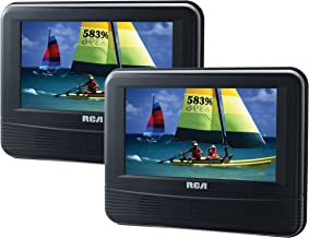 rca 7in dual screen mobile dvd system