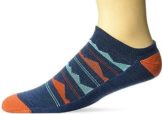 Keen mens Horizon Ultralite Low Cut Socks - blue - Medium