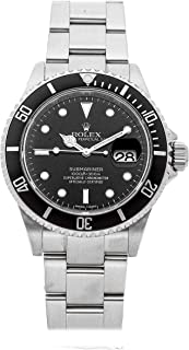 Submariner Mechanical (Automatic) Black Dial Mens Watch 16610 (Certified Pre-Owned)