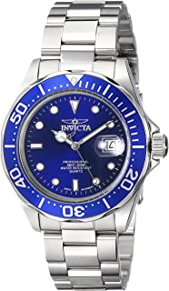 "Invicta Men's 9308SYB""Pro Diver"" Stainless Steel Watch with Silver-Tone Link Bracelet"