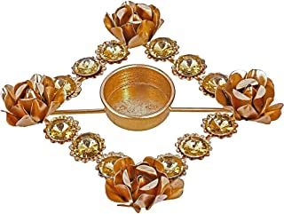 Beautiful Diya Christmas Rangoli Decorations & Puja -Candle Holder for Tea Lights- Lovely Gift Idea for Any Occasion