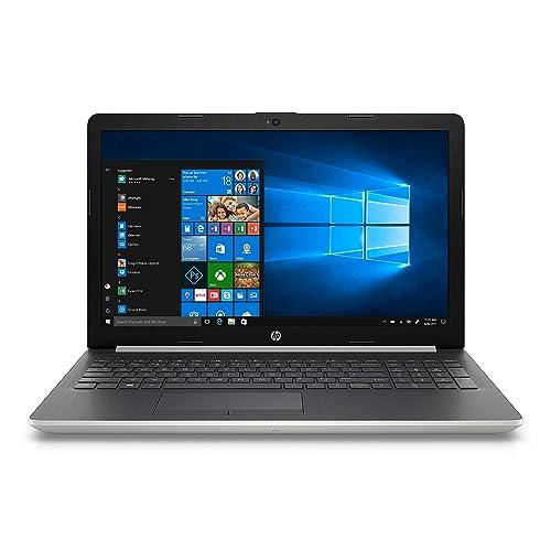 """HP Notebook 15-da0028ns - Ordenador Portátil 15.6"""" HD (Intel Core i3-7020U, 8 GB RAM, 1 TB HDD,  Intel Graphics, Windows 10), Color Plata - Teclado QWERTY Español [España]"""