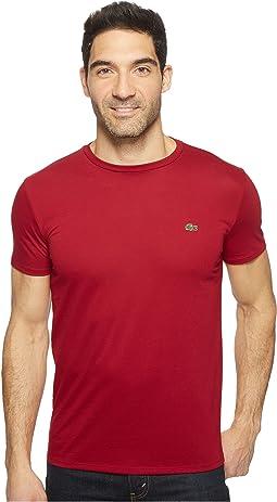 Short-Sleeve Pima Jersey Crewneck T-Shirt