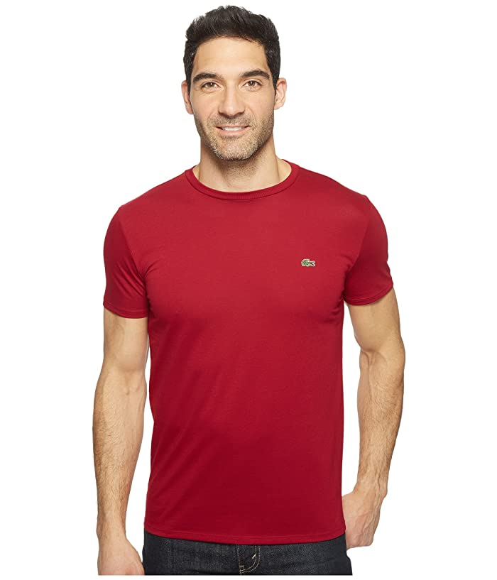 e93e9433 Short-Sleeve Pima Jersey Crewneck T-Shirt