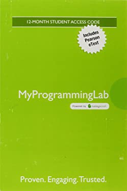 Mylab Programming with Pearson Etext -- Access Card -- For Introduction to Java Programming and Data Structures, Comprehensive Version