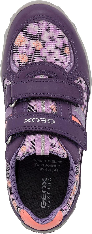 Geox Adalyn j826ba 0/an54/C0694/Chica Zapatilla de forro textil Textil Interior Suela