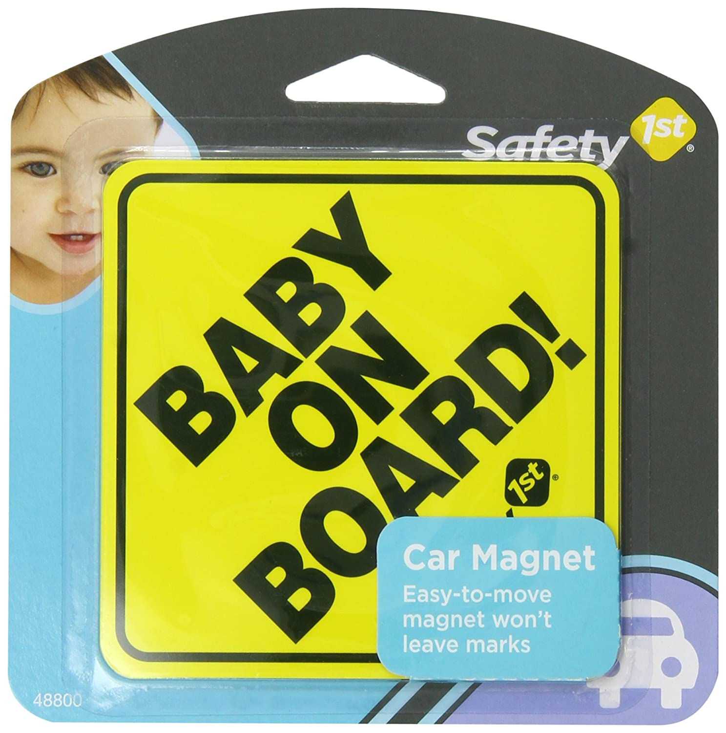 Ranking TOP1 Safety 1st Baby On Nippon regular agency Sign Board Magnet