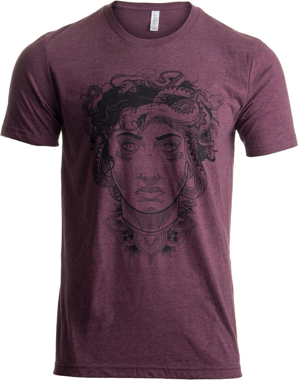 It is very popular Limited price sale Medusa Head Portrait Cool Greek Mythology Art for Men Fashion