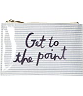 Kate Spade New York - Seersucker Pencil Pouch