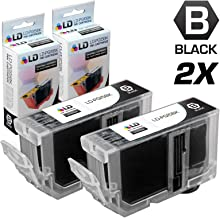 LD Compatible Ink Cartridge Replacement for Canon PGI5Bk 0628B002 (Pigment Black, 2-Pack)