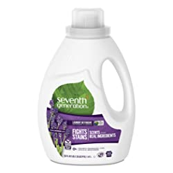 Seventh Generation Liquid Laundry Detergent, Fresh Lavender scent, 50 oz, 33 loads (Packaging May Va