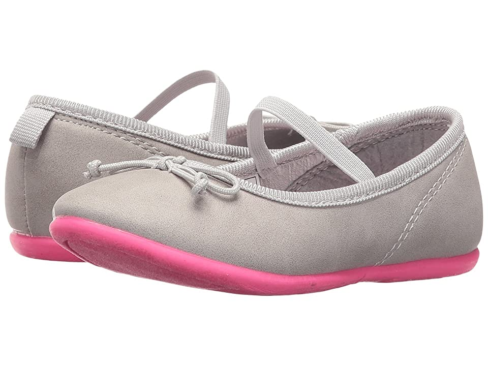 Carters Ruby 4 (Toddler/Little Kid) (Grey/Pink) Girl