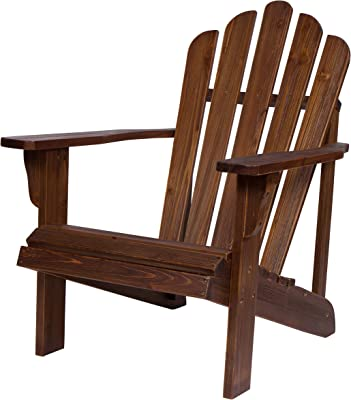 Shine Company 4621OA Westport II Hydro-TEX Finish, Oak Adirondack Chair
