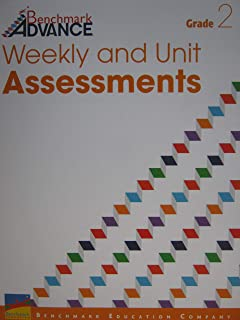 Benchmark Advance Grade 2 Weekly and Unit Assessments