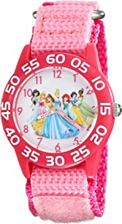 Kids' W001990 Princess Time Teacher Watch With Pink Nylon...