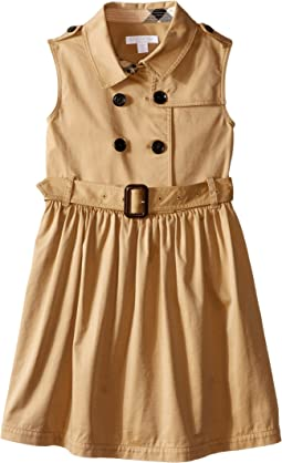Iliana Sleeveless Trench Dress (Little Kids/Big Kids)