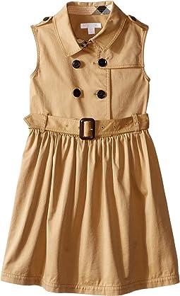 Burberry Kids - Iliana Sleeveless Trench Dress (Little Kids/Big Kids)