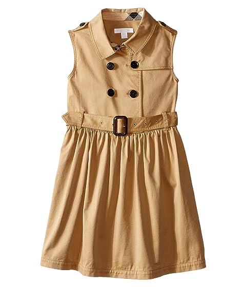 Burberry Kids Iliana Sleeveless Trench Dress (Little Kids/Big Kids)