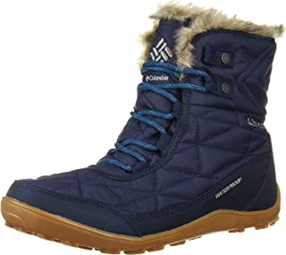 Columbia Women's Minx Shorty Iii Collegiate Navy Assorted Boots-5 UK (38 EU) (7 US) (BL5961-464)