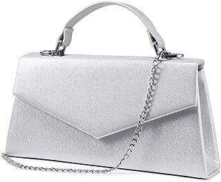 Women Evening Envelope Handbag Clutch Purse Shoulder Cross Body Bag for WEDDING PARTY