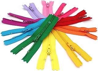 ZipperStop Wholesale Authorized Distributor YKK? 3 Doll Zipper YKK #3 Skirt & Dress Zippers ~ Assortment of Colors (10 Zip...