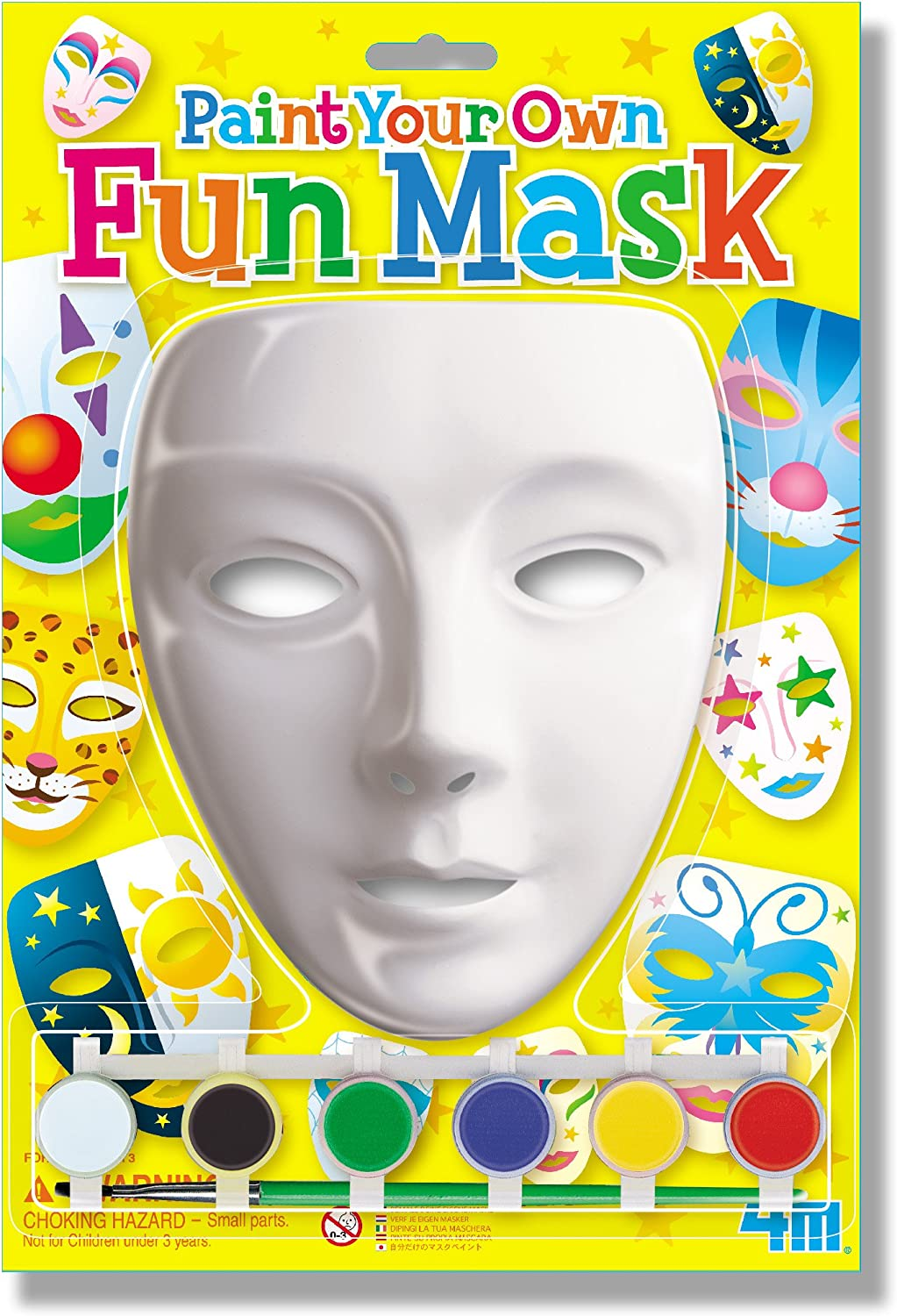4M Paint Your Own Mask Kit by 4M